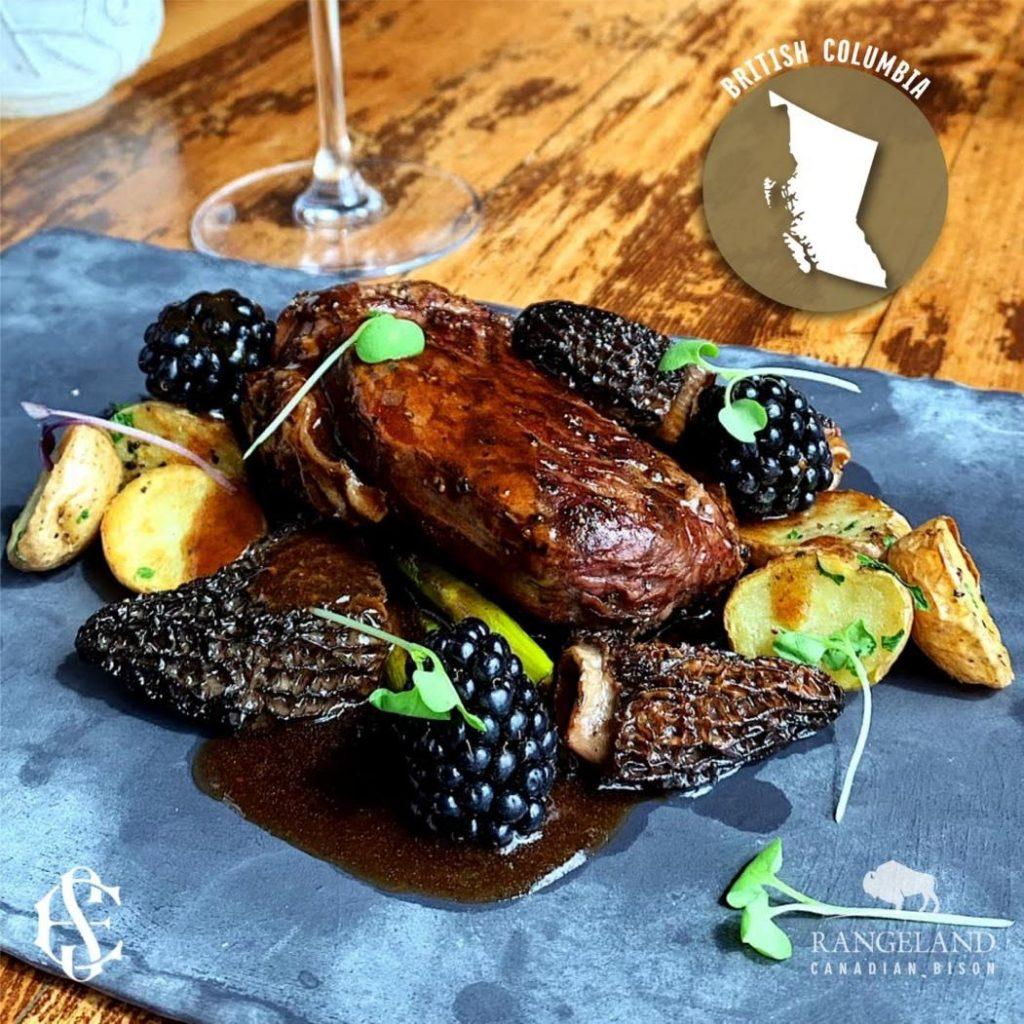 bison recipe british columbia